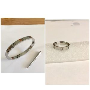 Jewelry - Bundle for a bracelet and a ring